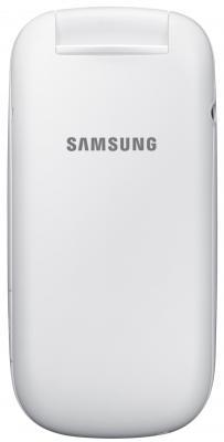 Мобильный телефон Samsung E1272 (белый) - вид сзади