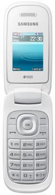 Мобильный телефон Samsung E1272 (белый) - общий вид