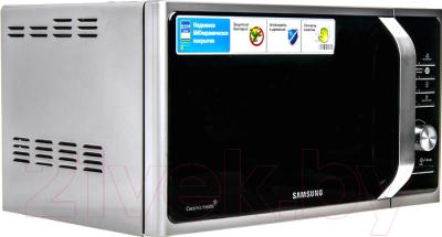 Микроволновая печь Samsung MS23F302TAS - вид сбоку 1