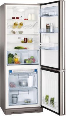 Холодильник с морозильником AEG S94400CTM0 - внутренний вид