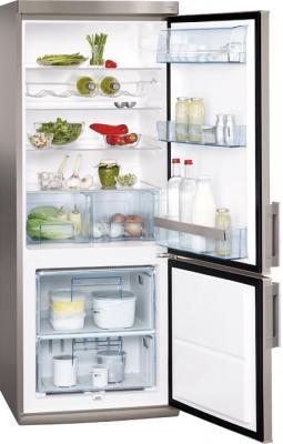 Холодильник с морозильником AEG S52900CSS0 - внутренний вид