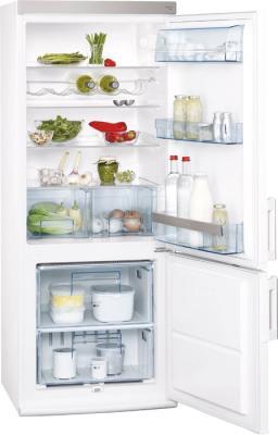 Холодильник с морозильником AEG S52900CSW0 - внутренний вид