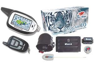 Автосигнализация Scher-Khan Magicar 10 (встроен CAN) - комплектация