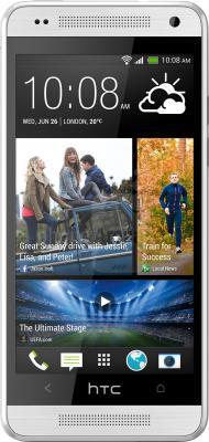 Смартфон HTC One mini (серебристый) - общий вид
