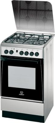 Кухонная плита Indesit KN3G210S(X)/UA - общий вид