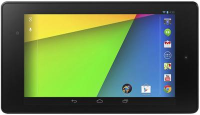 Планшет Asus Nexus 7 32GB LTE (2013) - фронтальный вид