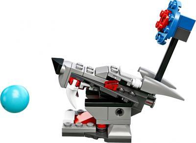 Конструктор Lego Chima Разгромная атака (70107) - голова волка с мишенью