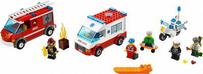 Конструктор Lego City Набор для начинающих (60023) - общий вид