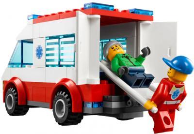 Конструктор Lego City Набор для начинающих (60023) - скорая помощь