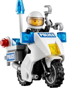 Конструктор Lego City Набор для начинающих (60023) - полицейский