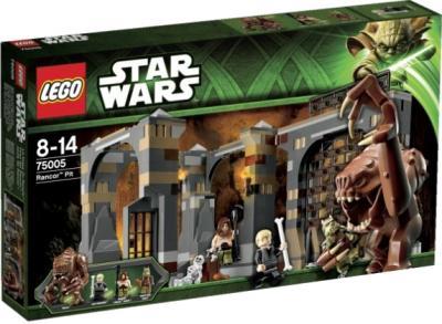 Конструктор Lego Star Wars Логово Ранкора (75005) - в упаковке