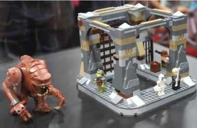 Конструктор Lego Star Wars Логово Ранкора (75005) - общий вид