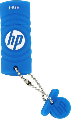 Usb flash накопитель HP C350 16GB Blue (FDU16GBHPC350B-EF) - общий вид