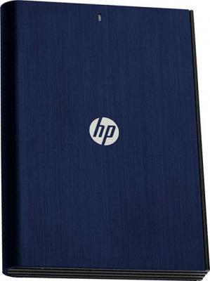 Внешний жесткий диск HP P2050B 500GB Blue (HPHDD2E30500AB1-RBE) - общий вид