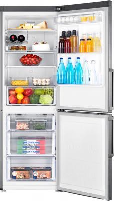 Холодильник с морозильником Samsung RB28FEJNDSS/RS - общий вид