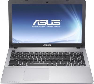 Ноутбук Asus F550CA (90NBOOU2-M07160) - фронтальный вид