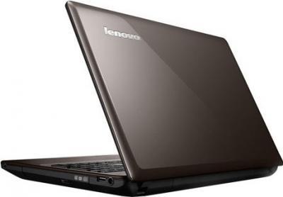 Ноутбук Lenovo IdeaPad G585 (59366130) - вид сзади