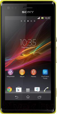 Смартфон Sony Xperia M / C1905 (желтый)