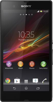 Смартфон Sony Xperia Z (C6602) (Black) - общий вид