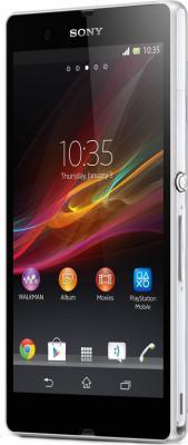 Смартфон Sony Xperia Z (C6602) (White) - общий вид