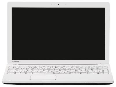 Ноутбук Toshiba Satellite C50-A-L3W - фронтальный вид