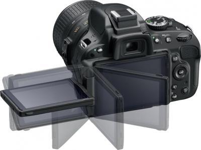 Зеркальный фотоаппарат Nikon D5100 Kit (18-105mm VR) - поворотный экран