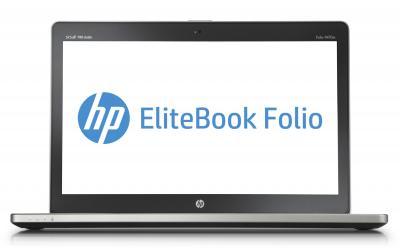 Ноутбук HP EliteBook Folio 9470m (H5F49EA) - фронтальный вид
