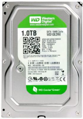 Жесткий диск Western Digital Caviar Green 1TB (WD10EZRX) - общий вид