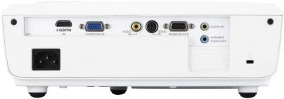 Проектор Panasonic PT-LX270E - вид сзади