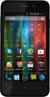 Смартфон Prestigio Multiphone 5400 Duo (черный + подарок) - общий вид