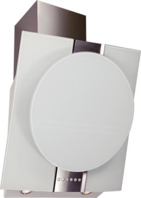 Вытяжка декоративная Elikor Графит (60 Inox-White Glass) - общий вид