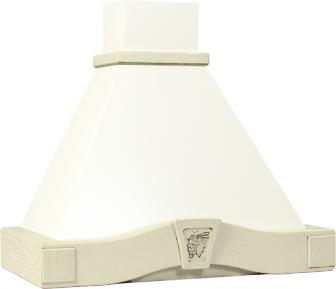 Вытяжка купольная Elikor Грильяж (90 White) - цвет оригинала может несколько отличаться от фото