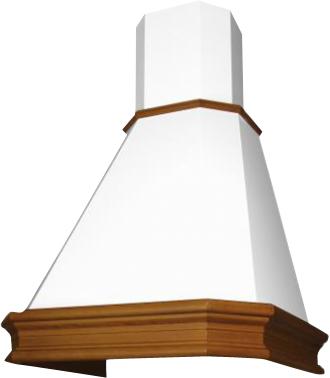 Вытяжка купольная Elikor Пергола 60 (бежевый/дуб коричневый) - общий вид