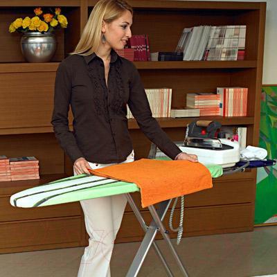 Гладильная доска Gimi Poker (киви) - цвет чехла на картинке отличается от того, что в продаже/цвет чехла: зеленый с рисунком киви