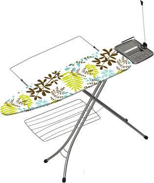 Гладильная доска Gimi Advance 100 - чехол: бирюзовые листья  / цвет чехла уточняйте при заказе