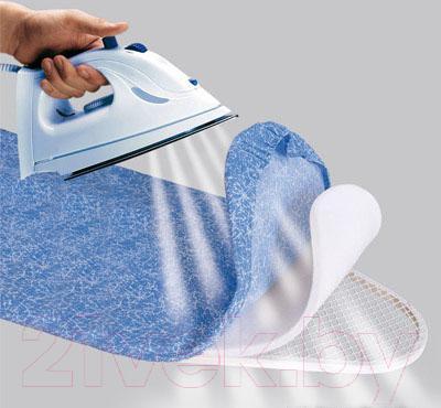 Гладильная доска Gimi Advance 140 (полевые цветы) - цвет чехла доски на фото отличается от того, что в продаже/цвет чехла: синий с рисунком василек