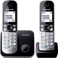 Беспроводной телефон Panasonic KX-TG6812 (черный) -
