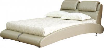 Двуспальная кровать Королевство сна BOLD (160x200 античный золотой) - общий вид