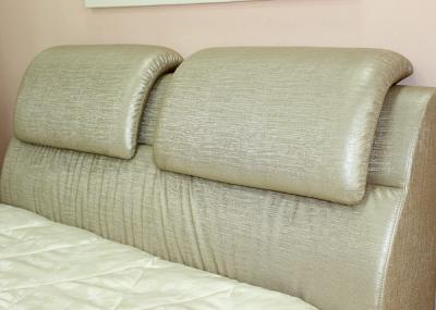 Двуспальная кровать Королевство сна BOLD (160x200 античный золотой) - обивка спинки