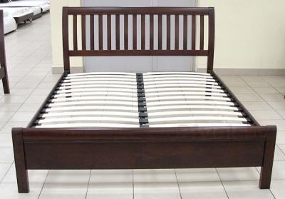 Односпальная кровать Королевство сна 3601 100х200 (венге) - вид спереди