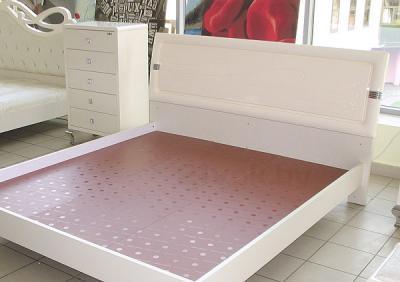 Двуспальная кровать Королевство сна Prestigio-003 160х200 (перламутровая с серебром) - общий вид