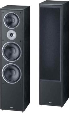 Акустическая система Magnat Monitor Supreme 2002 (Black, пара) - общий вид