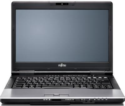 Ноутбук Fujitsu LIFEBOOK E752 (E7520M0010RU) - фронтальный вид