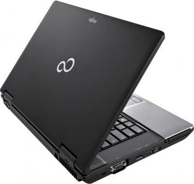 Ноутбук Fujitsu LIFEBOOK E752 (E7520M0010RU) - вид сзади