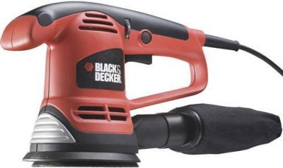 Эксцентриковая шлифовальная машина Black & Decker KA191EK - общий вид