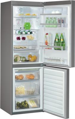 Холодильник с морозильником Whirlpool WBA 3688 NFC IX - внутренний вид