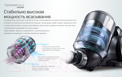 Пылесос Samsung SC20F70HA (VC20F70HNAR/EV)