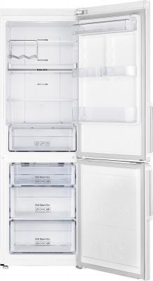 Холодильник с морозильником Samsung RB30FEJNDWW - с открытой дверью