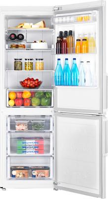 Холодильник с морозильником Samsung RB30FEJNDWW - внутренний вид