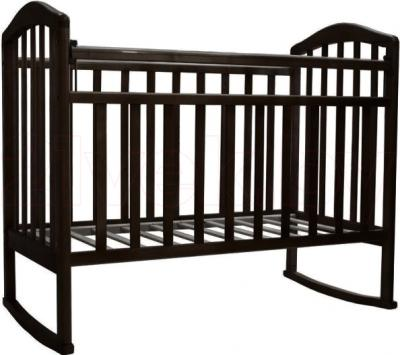 Детская кроватка Антел Алита-2 (Венге) - общий вид